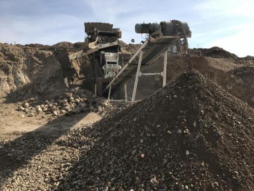 Road Base Material Crushing-2